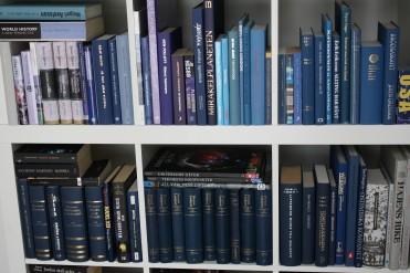 BlåBöcker, från ljust till mörkt