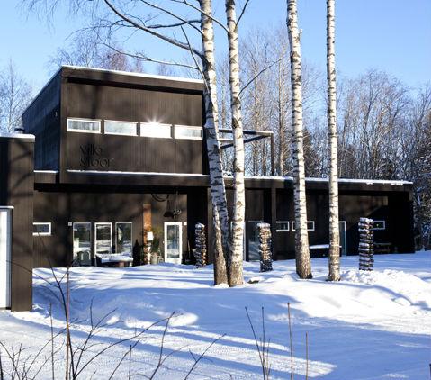Villa Stoor i vinterskrud